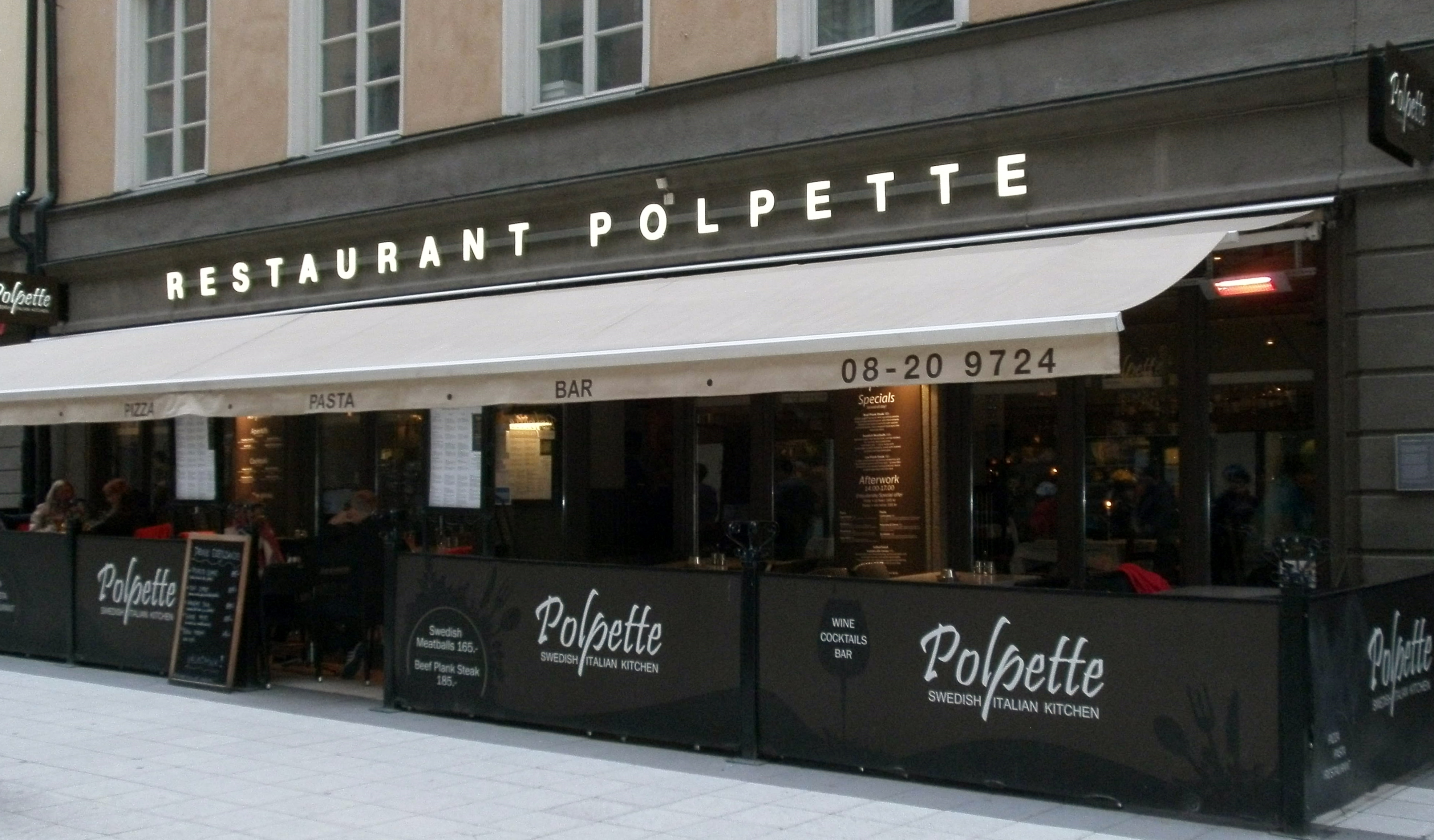 Situated On A Busy Pedestrianised Ping Street This Restaurant Offers Both Swedish And Italian Cuisine